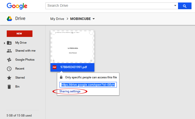 use a fillable pdf in google drive