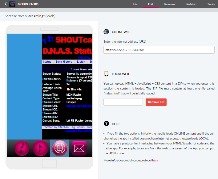"""Article: """"How to create a Radio App"""" – Mobincube"""